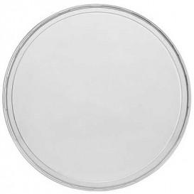 Plastikdeckel Transparent für Verpackungsbecher 350, 500 und 1.000ml  Ø11,5cm (50 Stück)