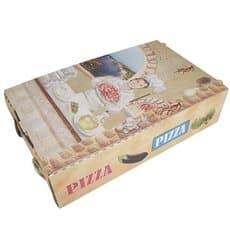 """Pizzaboxen """"Calzone"""" 270x160x70mm """"Vegetal"""" (100 Stück)"""