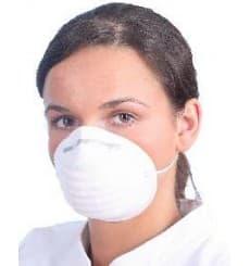 Hygiene Schutzmaske Polypropylen weiß (50 Stück)