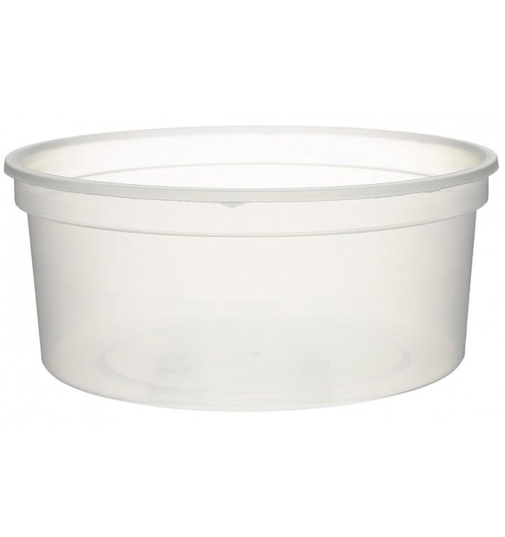 Verpackungsbecher aus Plastik 350ml  Ø11,5cm (50 Stück)