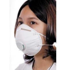 Atemschutzmaske mit Cool Flow Ausatemventil FFP2 (10 Stück)