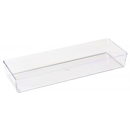 Transp. Plastiktablett  4,6x13cm (500 Stück)