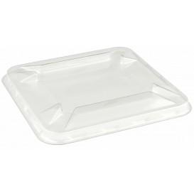 Deckel für Schale Klein aus Plastik PET 90x90mm (50 Stück)