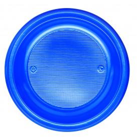 Plastikteller PS Flach Dunkelblau Ø220mm (780 Stück)