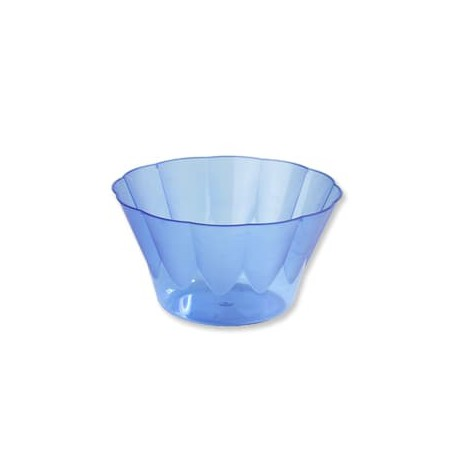 Copa ROYAL para  COCTAIL Azul de Plastico 400ml (Caja 600Uds)
