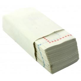 Papierservietten mit Zickzackfalz 14x14 blau und rot (25.000 Stück)