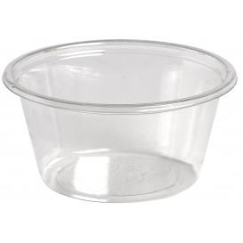 Dressingbecher Plastik PET für Soβen 60ml Ø62mm (2500 Stück)