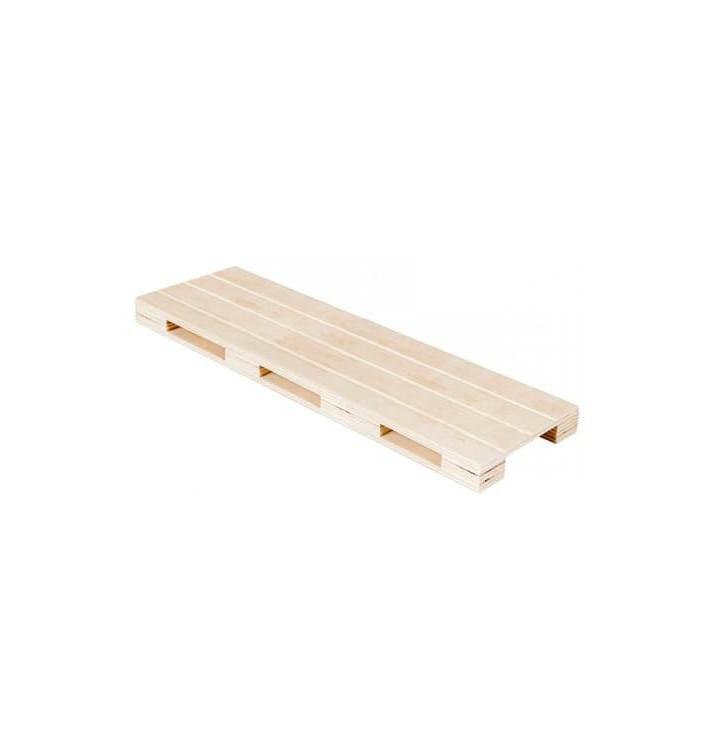 Mini Paletten aus Holz 40x15x2cm (1 Stück)
