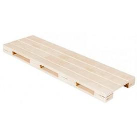 Mini Paletten aus Holz 40x15x2cm (20 Stück)