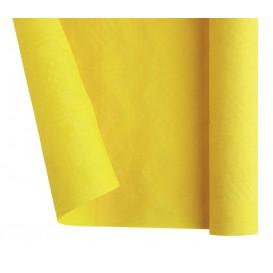 Rolle Papiertischdecke Gelb 1,2x7m (1 Stück)