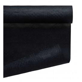 Rolle Papiertischdecke Schwarz 1,2x7m (25 Stück)