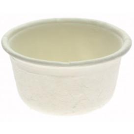 Soβenbecher aus Zuckerrohr Weiß Ø62mm 60ml (250 Stück)