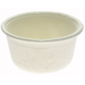 Soβenbecher aus Zuckerrohr Weiß 60ml (250 Stück)