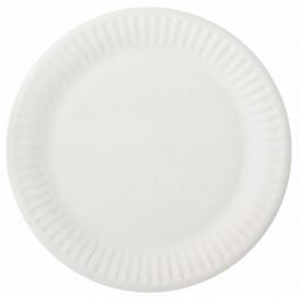 Papierteller weiß Ø15cm (100 Stück)