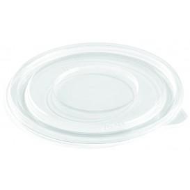 Deckel Flach für Plastikschale PET Ø140mm (50 Stück)