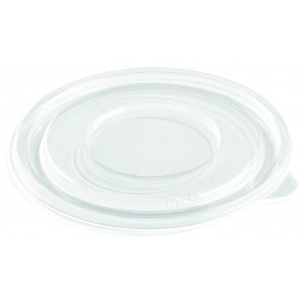 Deckel Flach für Plastikschale PET Ø140mm (500 Stück)