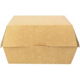Hamburger Box Kraft Mega 14x14x4,5 cm (25 Stück)