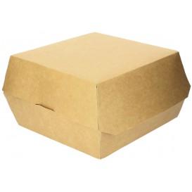 Hamburger Box Kraft Mega 14x14x4,5 cm (250 Stück)