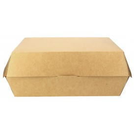 Hamburger Box Kraft Gigante 18,6x14,6x4cm (200 Stück)