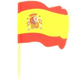 """Holzspieße Flagge """"Spanien"""" 65mm (14.400 Einh.)"""