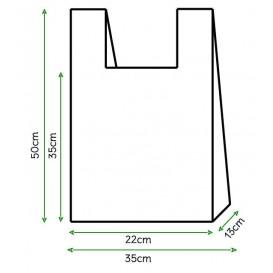 Hemdchenbeutel weiß 35x50cm (200 Stück)