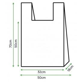 Hemdchenbeutel weiß 50x70cm (1400 Stück)