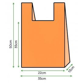 Hemdchenbeutel Orange 35x50cm (5000 Stück)