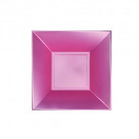 Plastikteller Tiefe Rosa Nice Pearl PP 180mm (300 Stück)