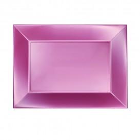 Plastiktablett Rosa Nice Pearl PP 280x190mm (12 Stück)