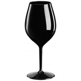Sektflöte für Wein Tritan Wiederverwendbar Schwarz 510ml (1 Stück)