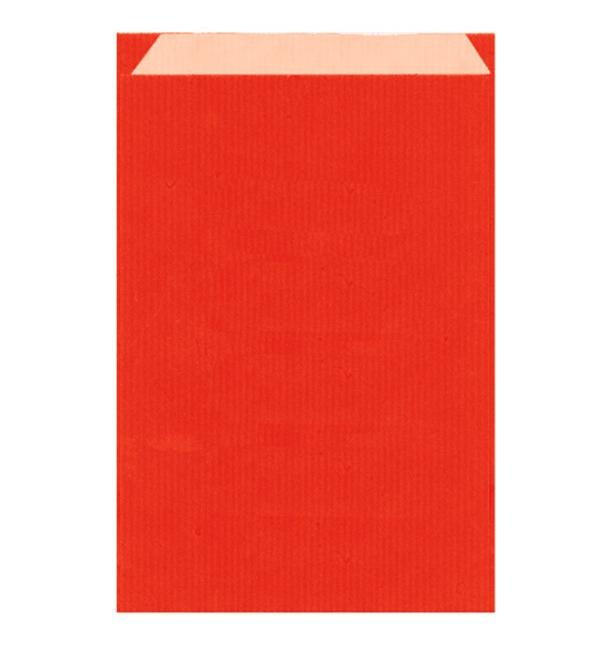 Papierumschlag Kraft Rot 26+9x38cm (125 Stück)