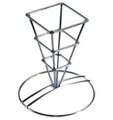 Pommestütenhalter aus Stahl 64x122mm (12 Stück)
