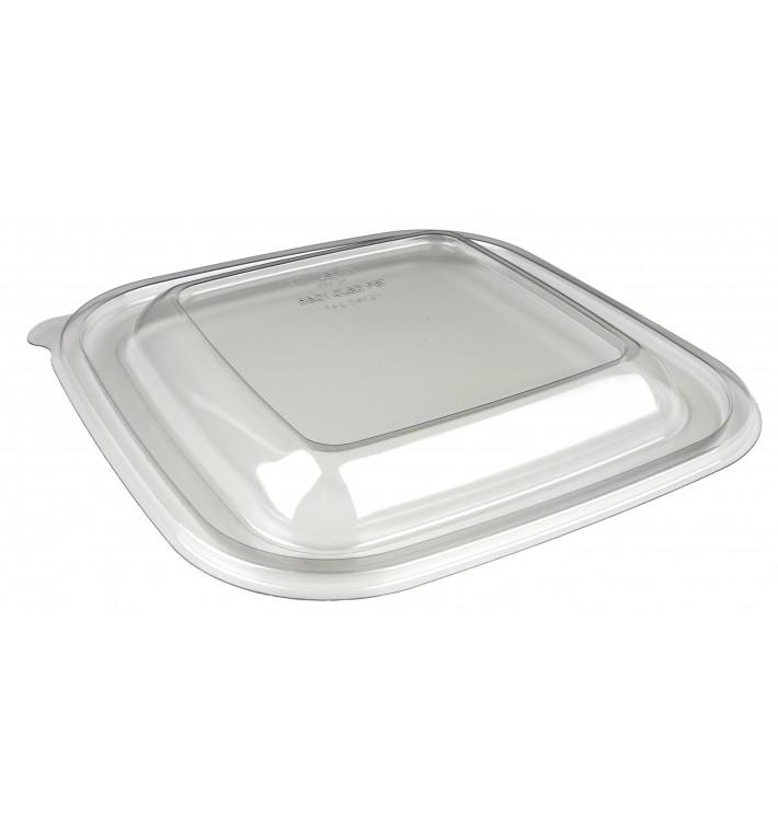 Deckel für Schale aus Plastik PET 120x120x70mm (50 Stück)