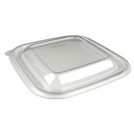 Deckel für Schale aus Plastik PET 120x120x70mm (300 Stück)