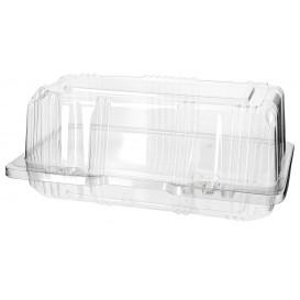 Klappbox PET für Gebäck 18x9,5x8cm (20 Stück)