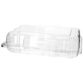 Klappbox PET für Gebäck 22x14,5x6cm (20 Stück)
