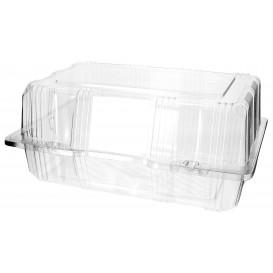 Klappbox PET für Gebäck 22x14,5x10cm (220 Stück)