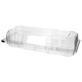 Klappbox PET für Gebäck 24x10x6cm (20 Stück)