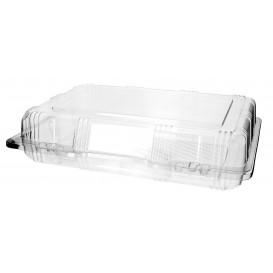 Klappbox Scharnier PET für Gebäck 25x17x6cm (220 Stück)