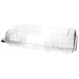 Klappbox PET für Gebäck 26x13x6cm (20 Stück)