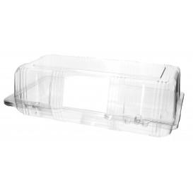 Klappbox Scharnier PET für Gebäck 26x13x8cm (220 Stück)