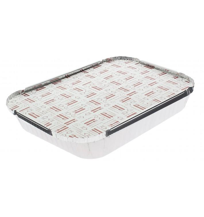 Deckel für Aluschalen 1.180ml (100 Stück)