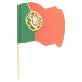 "Holzspieße Flagge ""Portugal"" 65mm (14.400 Einh.)"