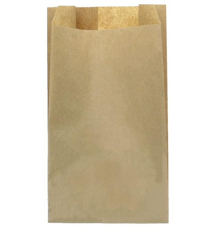 Papiertüten Kraft 14+7x24cm (250 Stück)