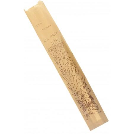 "Papiertüten Kraft ""Siega"" 9+5x50cm (100 Stück)"