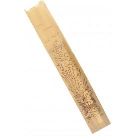 "Papiertüten Kraft ""Siega"" 9+5x50cm (1.000 Stück)"
