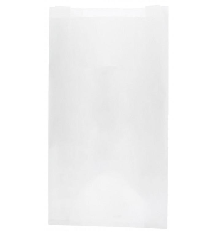 Papiertüten weiß 14+7x24cm (1.000 Stück)