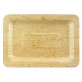 Tablett aus Bambus 20x14x1cm (100 Stück)