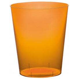 Becher aus Hartplastik Moon Orange Transp. PS 350ml (400 Stück)