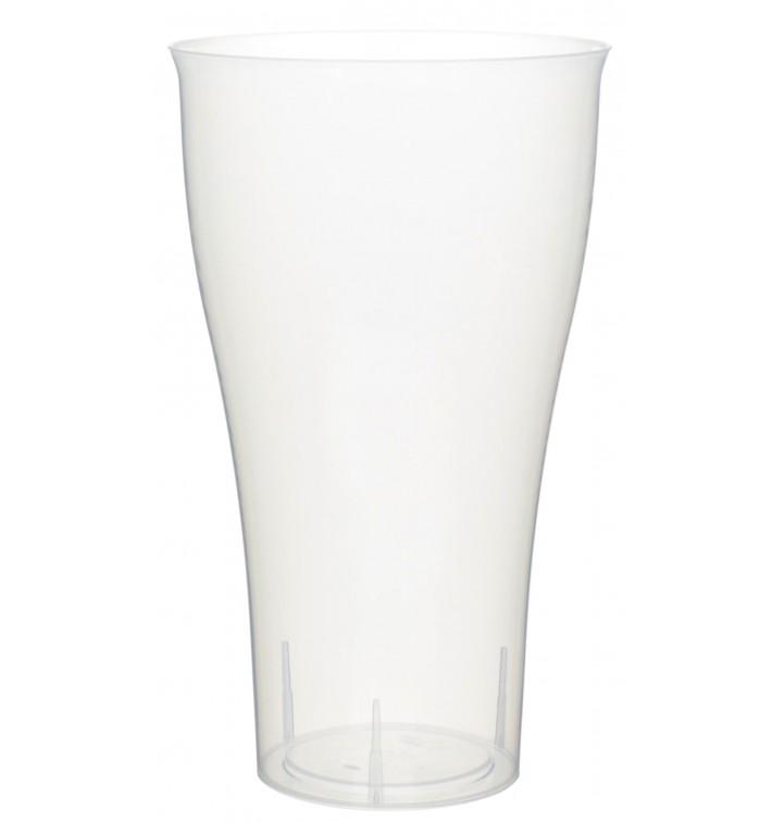 Plastikbecher Transparent PP für Cocktails 430ml (15 Stück)
